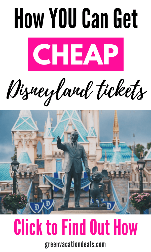 How to get cheap Disneyland tickets. How you can save up to $93 on single park & park hopper tickets for Disneyland & Disney California Adventure in Anaheim, California. Save money on Los Angeles Southern California area family vacation