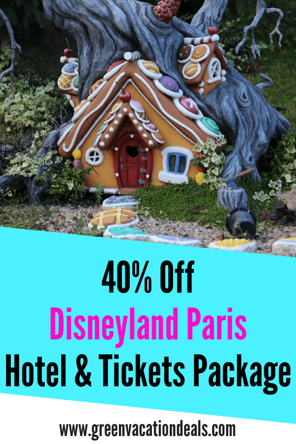 Now's the time to book a holiday at the Disneyland Paris Resort in Marne-la-Vallée, France - you can currently save 40% on a hotel & tickets package! Get tickets to Disneyland & Walt Disney Studios when booking a stay at Hotel Cheyenne, Santa Fe, Newport Bay Club, Davy Crockett Ranch, Sequoia Lodge & Disneyland Hotel