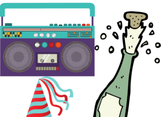 Discounted price for 80's New Years Eve party in Koreatown in LA