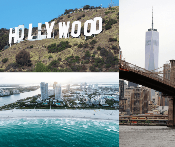 Win a free trip to New York City, Los Angeles or Miami