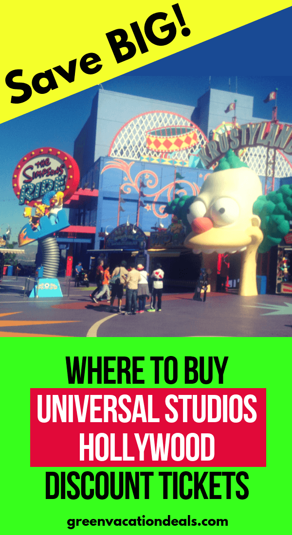 Family travel tips: where to go to find discounted Universal Studios Hollywood tickets & when to visit this Southern California theme park to get the lowest prices. Enjoy the world-famous studio tour, Wizarding World of Harry Potter, Simpson Ride, Walking Dead attraction, Despicable Me Minion Mayhem, Revenge of the Mummy Ride, etc. at a reduced rate