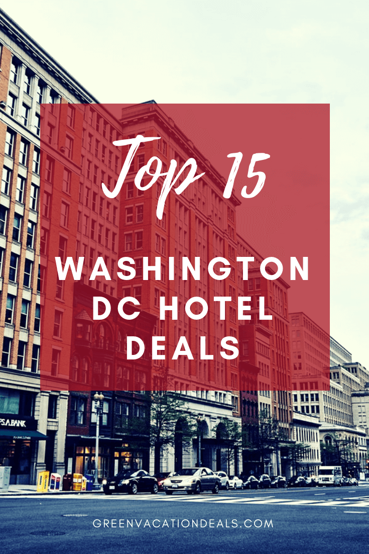Looking to take a vacation in Washington DC? Here are 4-star or 5-star hotels with the best customer reviews that are all on sale on Last Minute Travel: Fairmont Washington DC Georgetown, Dupont Circle Hotel, Liaison Capitol Hill, Renaissance, Palomar, Ritz Carlton, St Regis, JW Marriott, Mason & Rook, Park Hyatt, Hotel Monaco, Carlyle, Madera, W Washington DC