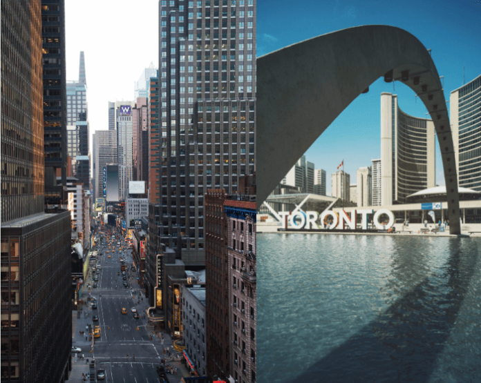 Win a free stay at a Fairmont in Toronto or New York City