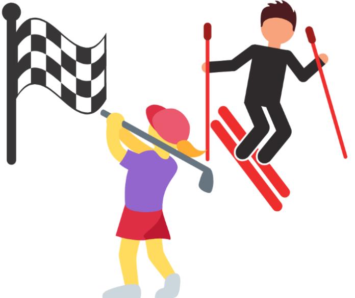 Win a golf, skiing or racing trip