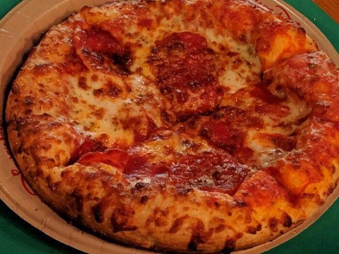 Eat pizza at Animal Kingdom in Walt Disney World Resort in Orlando Florida