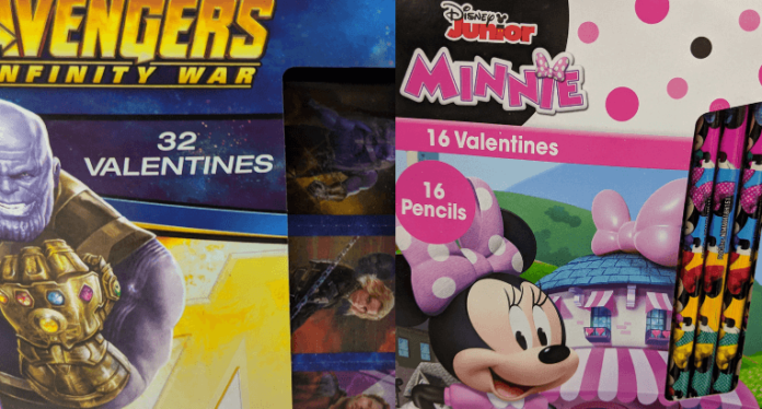 Best Disney Valentines Cards Star Wars, Avengers, Guardians of the Galaxy, Black Panther, Pixar, etc.