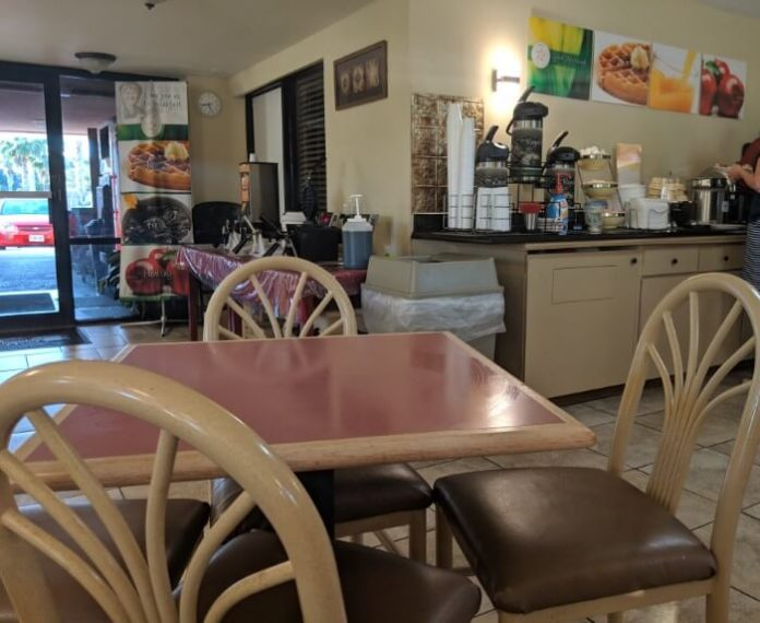 How to get free breakfast at St. Augustine Beach Florida hotel