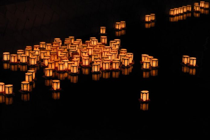 $45 off tickets for Water Lantern Festival at Sunset Park in Las Vegas