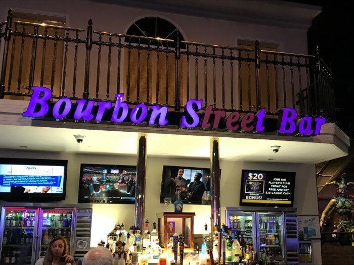 Great drinks available at Mardi Gras Casino Resort in West Virginia