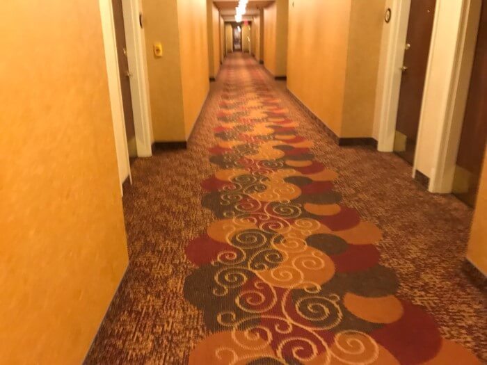 Mardi Gras casino hotel in West Virginia has themed hallways