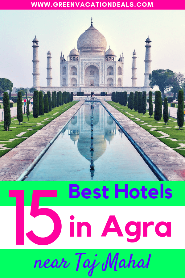 If you'd like to visit the Taj Mahal in Agra, India, then consider staying at one of these hotels that are best near the Taj Mahal - and click on our link to find a good price for them: ITC Mughal, a Luxury Collection Hotel, Mumtaz Mahal, Pyrenees Homestay, Optimum Tara Palace, Hotel Taj Plaza, Taj Heights, Mosutache, OYO, Optimum Sheela Inn, Treebo The Vantage, etc.