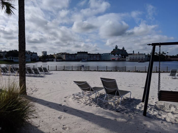 Orlando Florida beach themed hotel at Disney World Resort