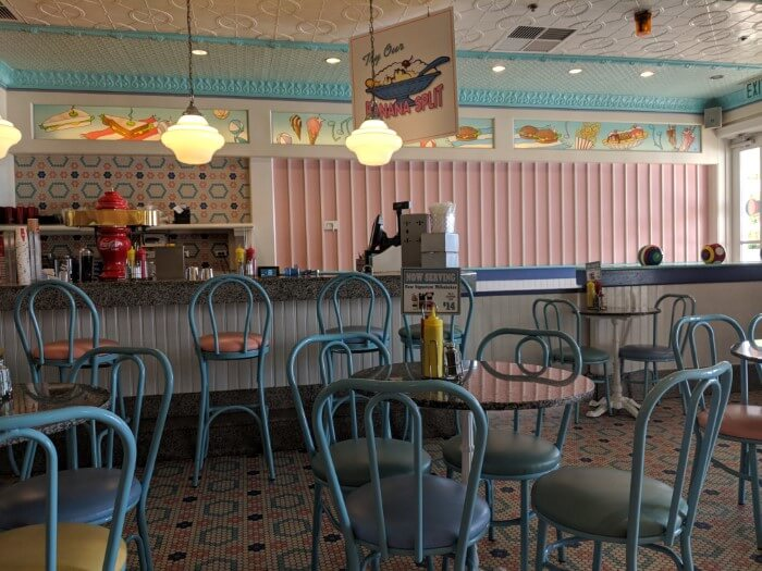 Themed dining option at Disney's Beach Club at Disney World