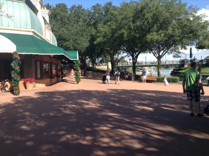 Beach Club is a short walk away from International Gateway at EPCOT at WDW