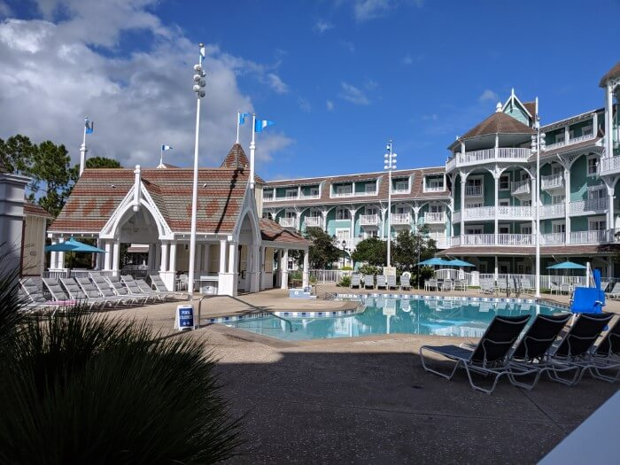 Why you should stay at Disney's Beach Club: their pool