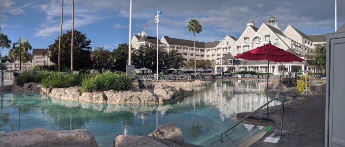 Best pool with lazy river at Walt Disney World Resort in Orlando FL
