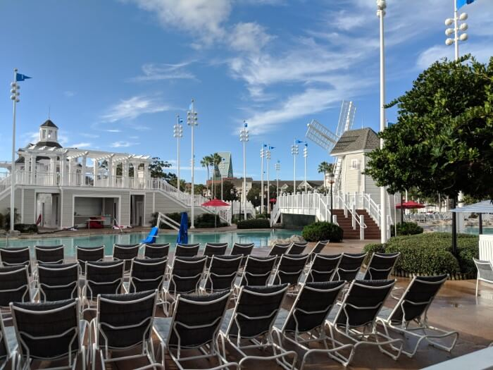 Disney's Beach Club Resort is great for families because of pool