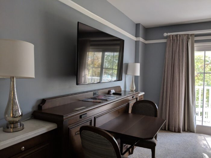 Enjoy roomy furnishing at Disney's Beach Club Florida
