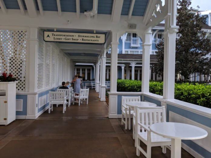 Disney World hotel that's small enough to be easy for guests