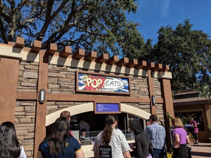 Disney World art festival has delicious food & drinks