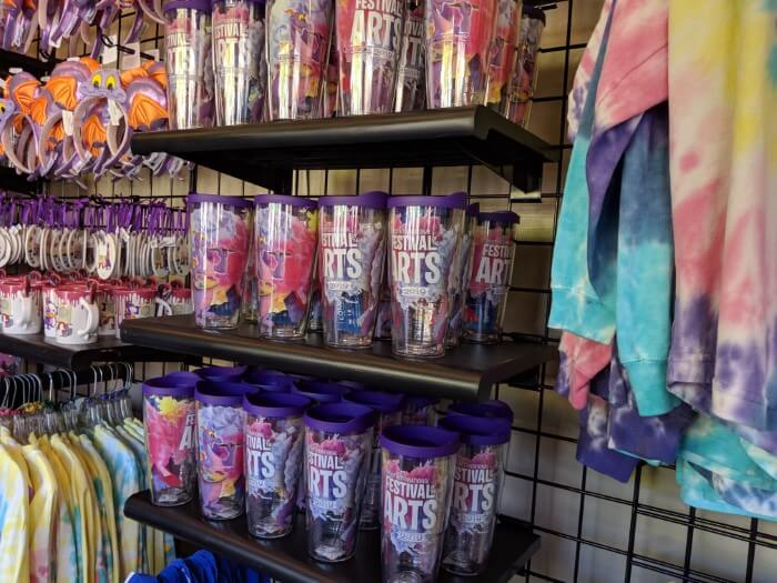 Items for sale at Disney World EPCOT art festival