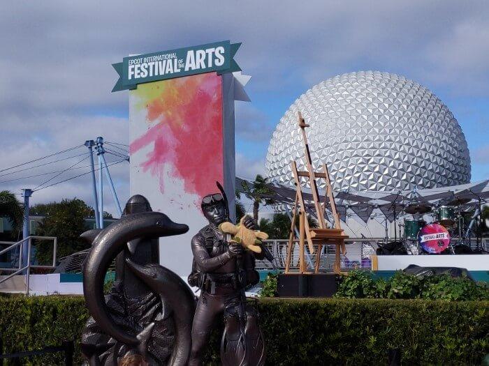 See art performances at Festival of the Arts Disney World