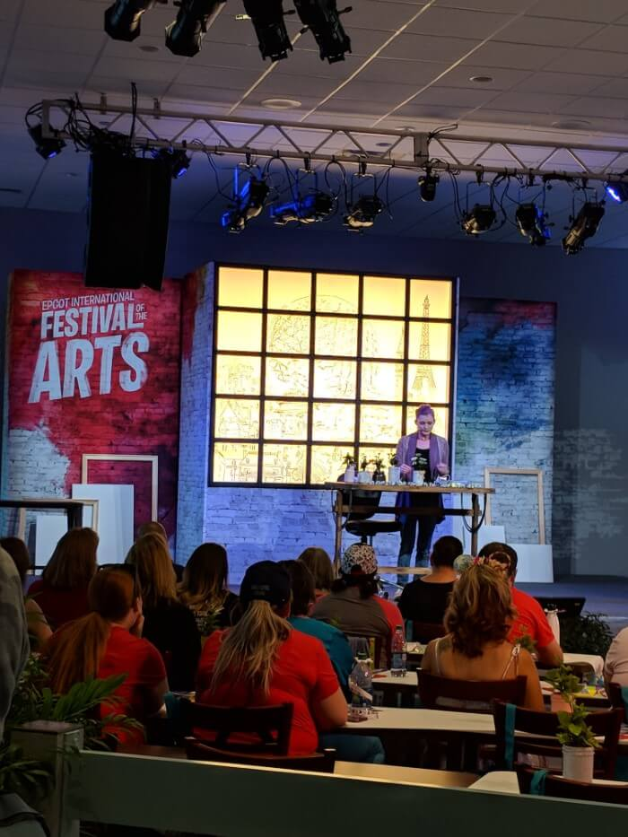 Learn from art experts at Disney World art festival
