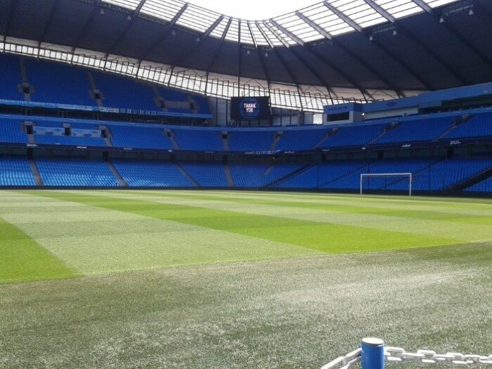Enter Betadine - Manchester City Family Experience Sweepstakes for free soccer match