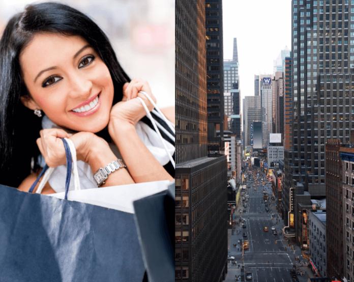 Win a shopping spree in New York City & dream prom dress