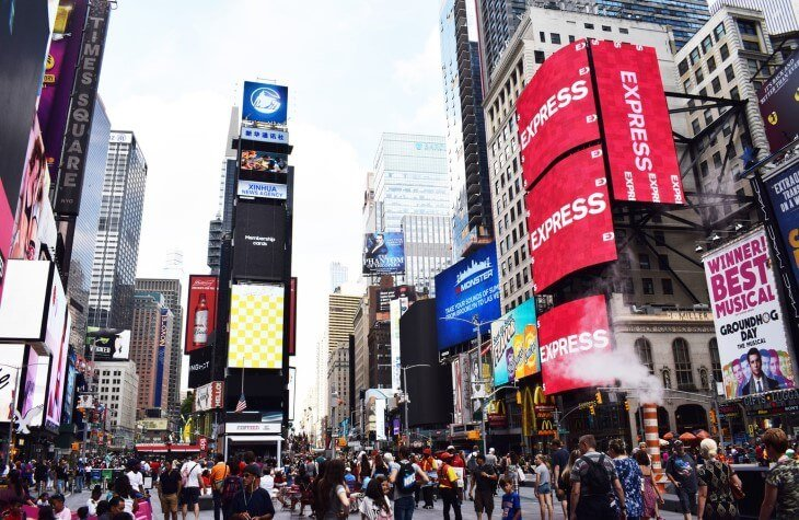Save On Millennium Broadway New York Times Square Green Vacation Deals