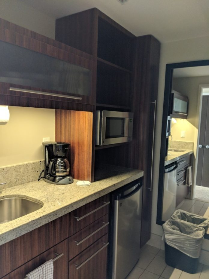You can get privacy at the kitchens at Disney's Bay Lake Tower Orlando