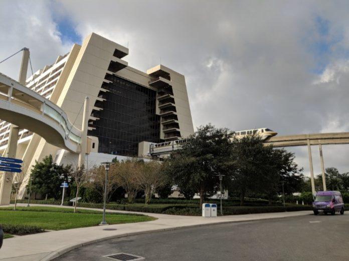 Bay Lake Tower DVC resort is convenient to Disney's monorail system