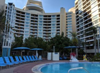 Bay Lake Tower at Disney World has an awesome pool