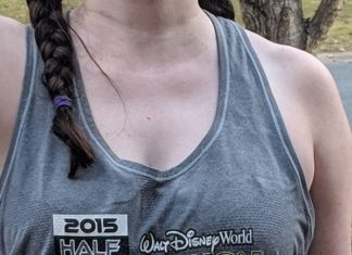 Disney themed tank tops for training for Disney World & Disneyland marathons