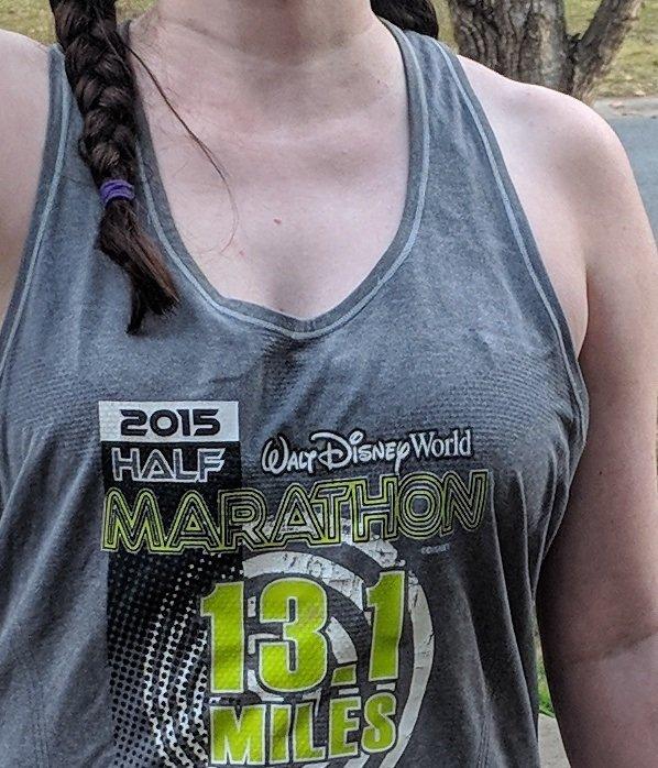 Disney themed tank tops for training for Disney World & Disneyland marathons