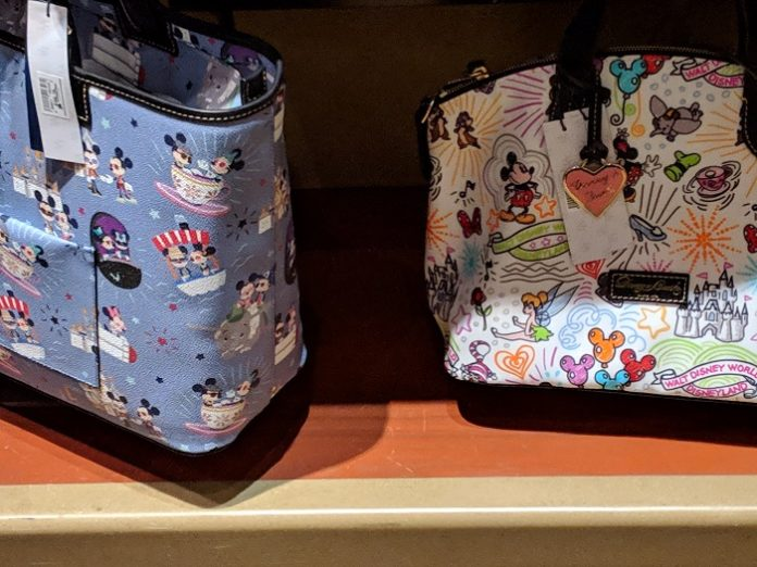 my favorite dooney & bourke purses themed to disney world, dsienyland, disney cruise, etc.