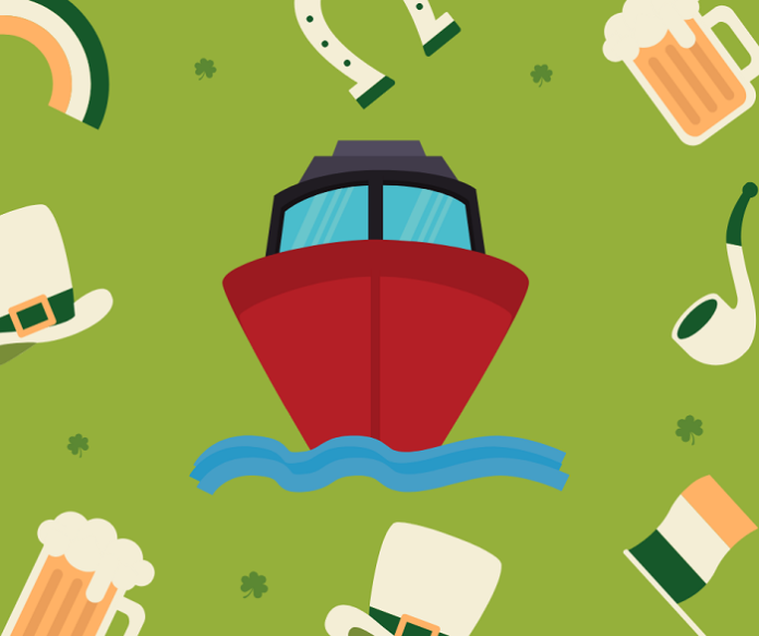 Enjoy St. Patrick's Day cruise with Irish beer & whiskey in Boston MA