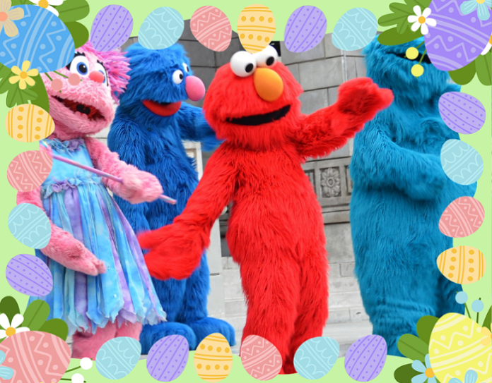 How to save money on Elmo's Eggstravaganza a Sesame Place theme park Easter celebration