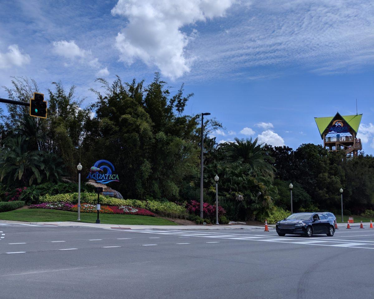A picture of SeaWorld's water park Aquatica in Orlando, Florida