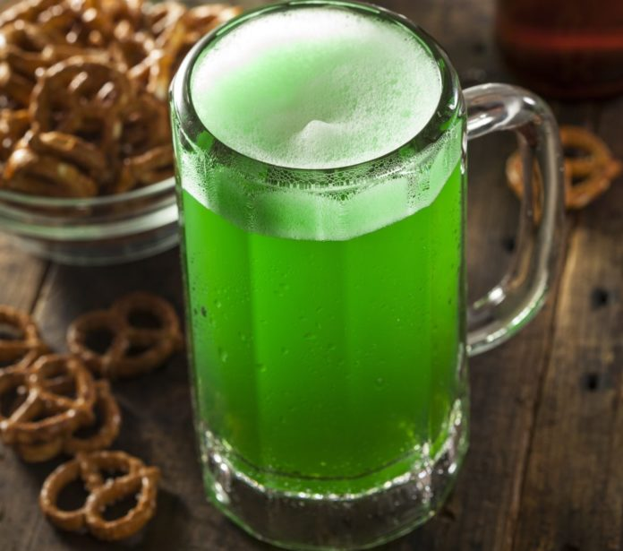 Save on St. Patrick's themed block party in NYC with drink specials