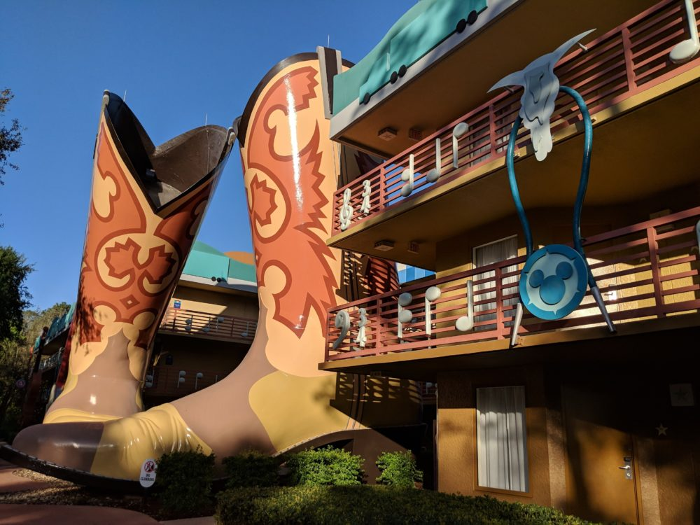 Country music section of Disney World All Star Music Resort