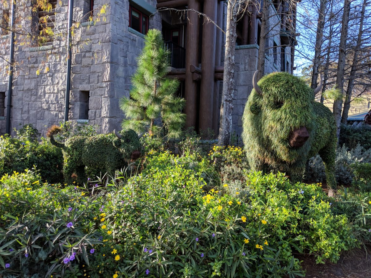 Great theming at Disney's Wilderness Lodge in Florida