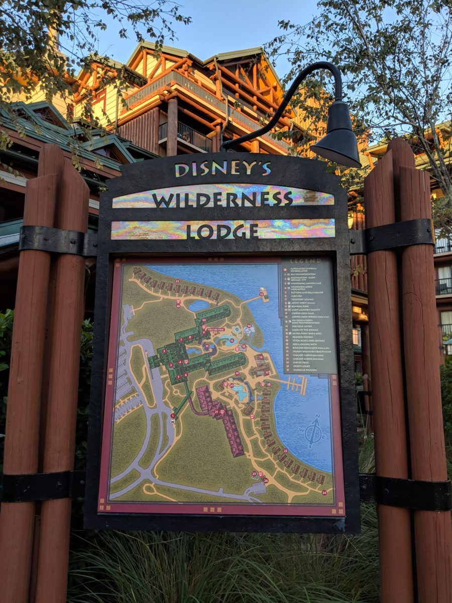 Wilderness Lodge has a convenient layout