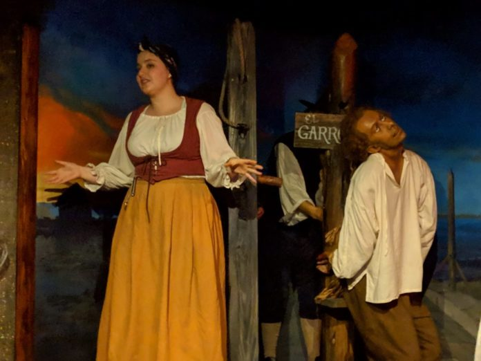 St. Augustine FL ghost tour review. Information on what to expect & how to get discount tickets