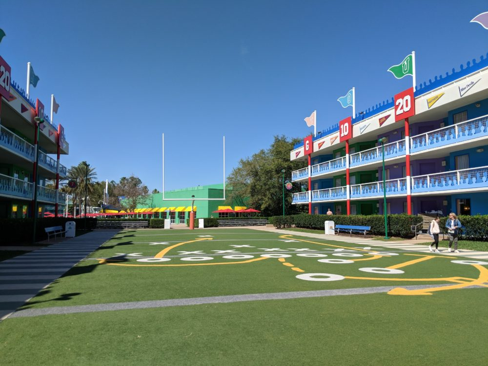 Why your family will love staying at the football part of Disney World's All Star Sports Resort