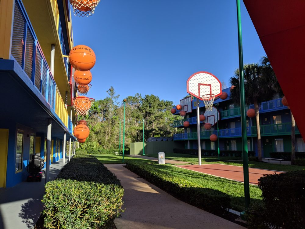 Travel advice on where to stay at Disney's All Star Sports hotel in Florida
