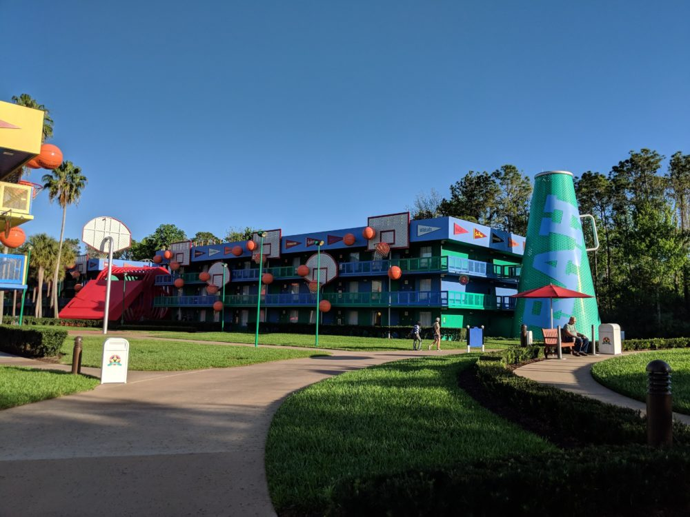 Why I wouldn't want to stay in basketball section of Disney's All Star Sports Resort