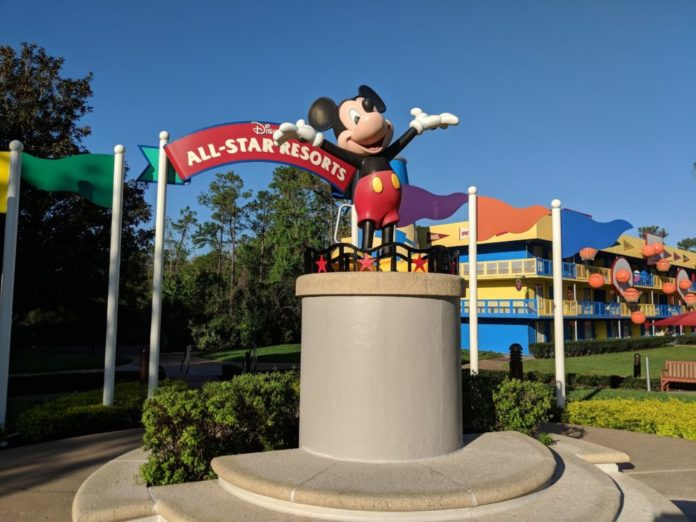 Should you want to stay at Hoops Hotel at Disney's All Star Sports Resort?