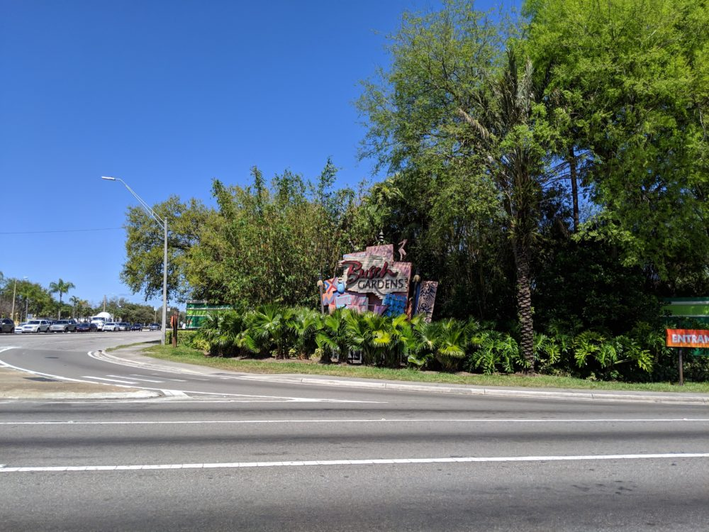 Holiday Inn Express & Suites Tampa USF is within walking distance of Busch Gardens Florida