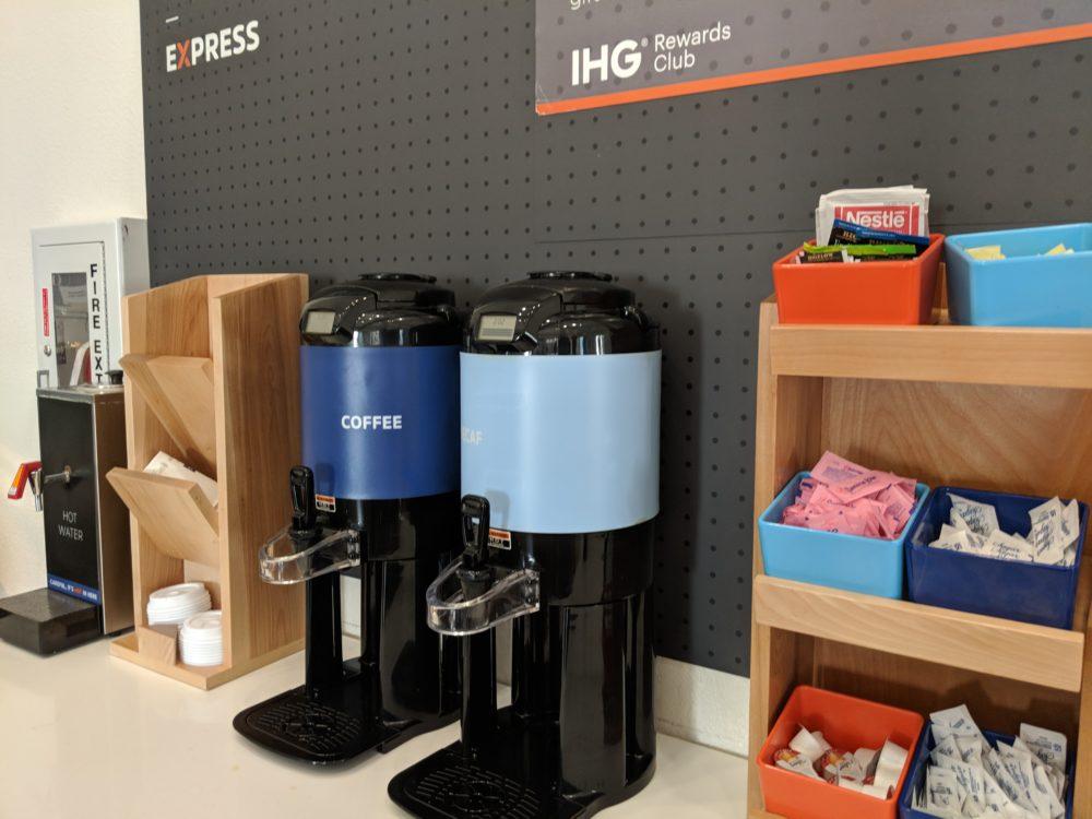 Holiday Inn USF Busch Gardens Tampa Bay offers free coffee, breakfast